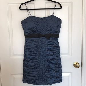 Navy blue BCBG dress